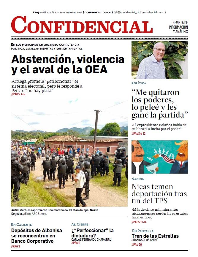 Abstención, violencia y el aval de la OEA