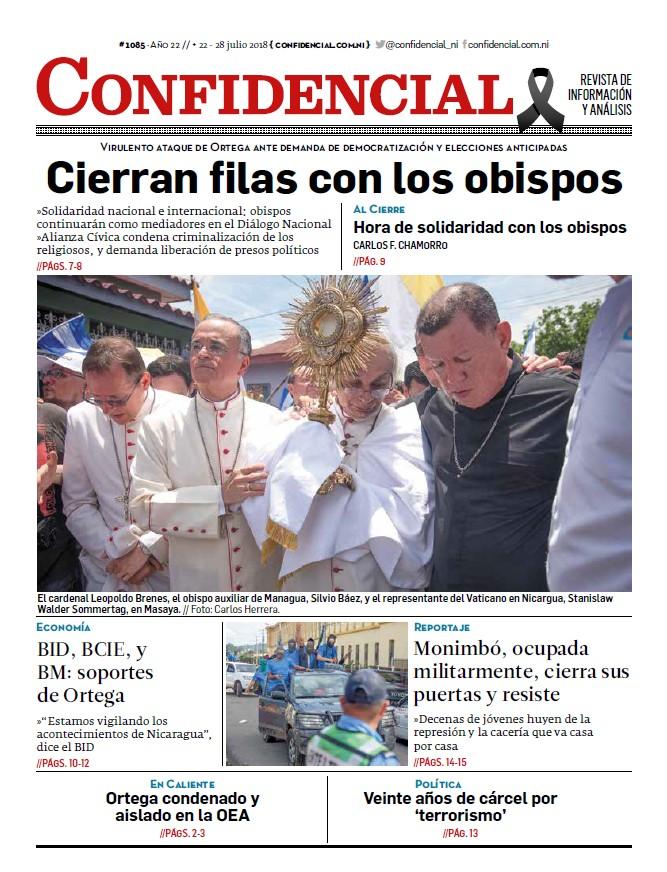 Cierran filas con los obispos
