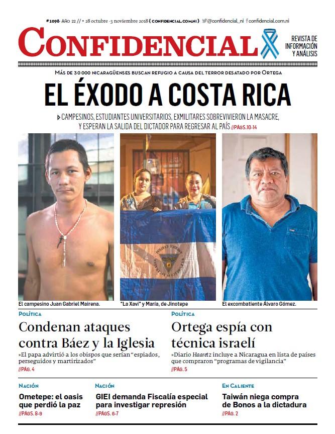 El éxodo a Costa Rica