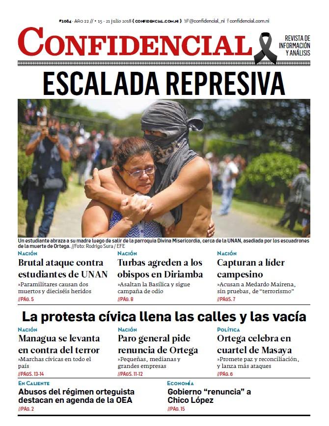Escalada represiva