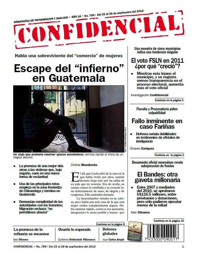 """Escape del """"infierno"""" en Guatemala"""