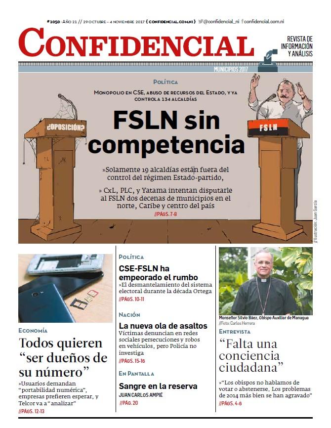 FSLN sin competencia
