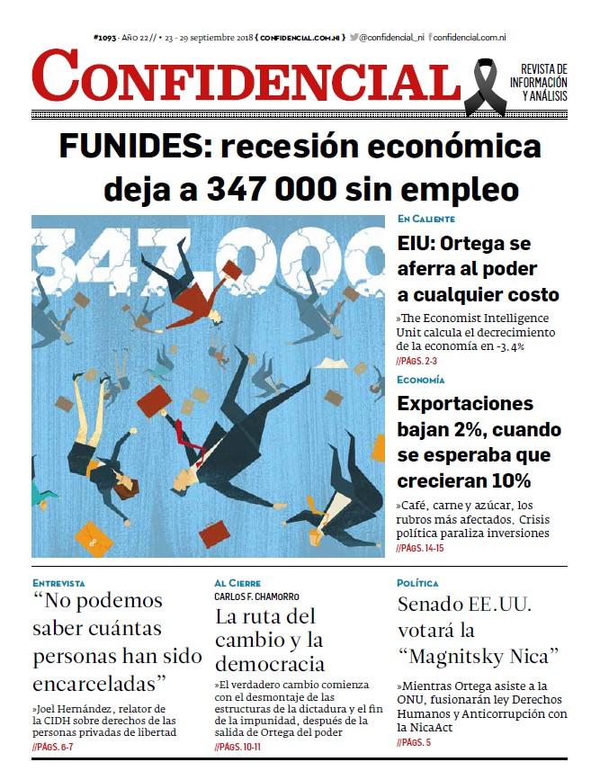 FUNIDES: recesión económica deja a 347 000 sin empleo