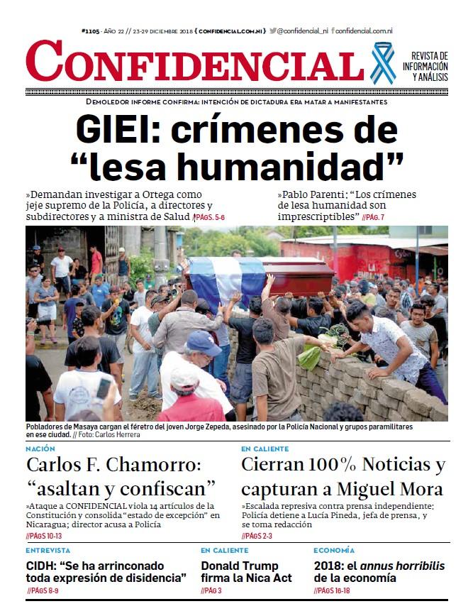 """GIEI: crímenes de """"lesa humanidad"""""""
