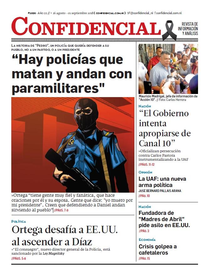 """""""Hay policías que matan y andan con paramilitares»"""