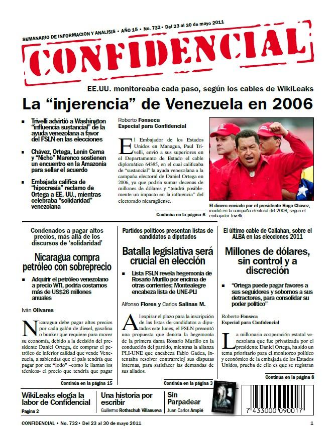 """La """"injerencia"""" de Venezuela en 2006"""