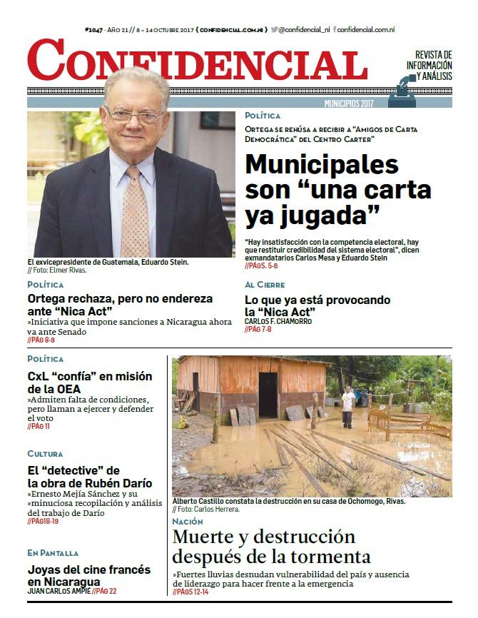 "Municipales son ""una carta ya jugada"""