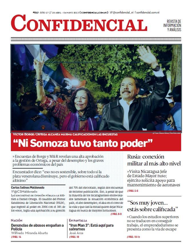 """""""Ni Somoza tuvo tanto poder"""""""