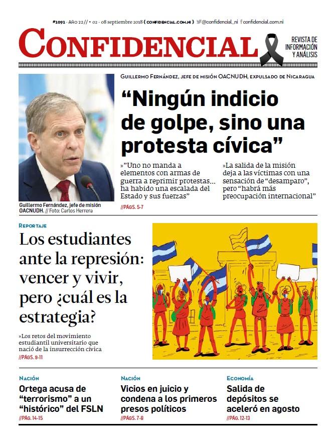 """""""Ningún indicio de golpe, sino una protesta cívica"""""""