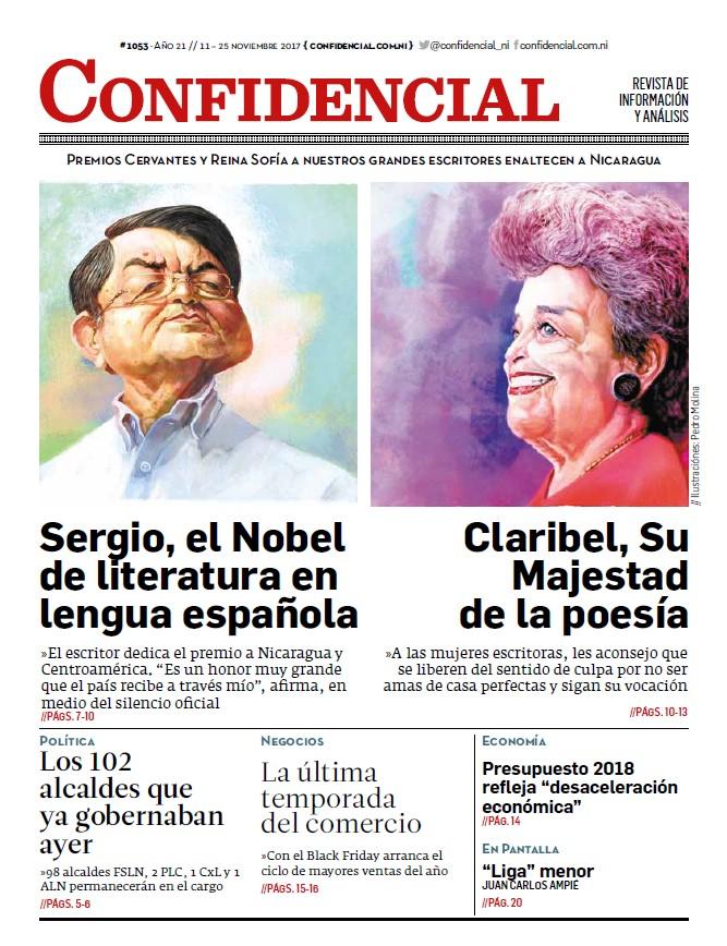 Premios Cervantes y Reina Sofía a nuestros grandes escritores enaltecen a Nicaragua