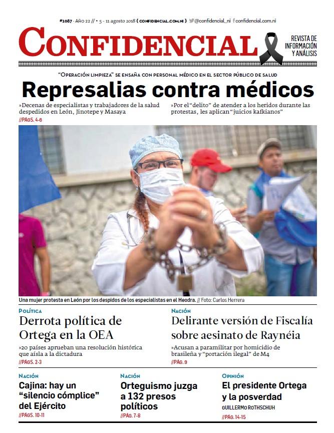 Represalias contra médicos