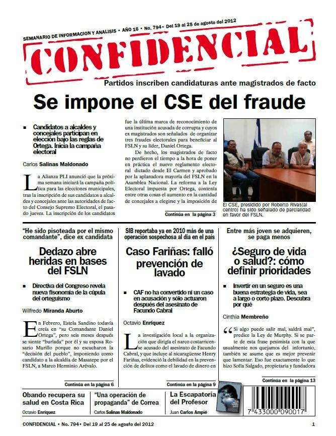 Se impone el CSE del fraude
