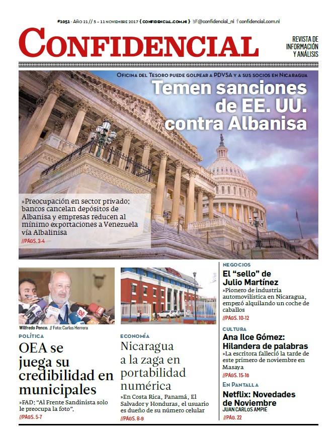 Temen sanciones de EE. UU. contra Albanisa
