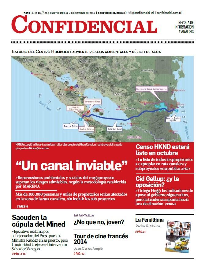 """""""Un canal inviable"""""""
