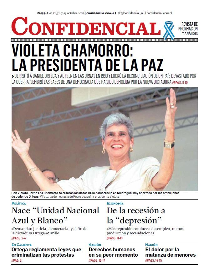 Violeta Chamorro: La presidenta de la paz