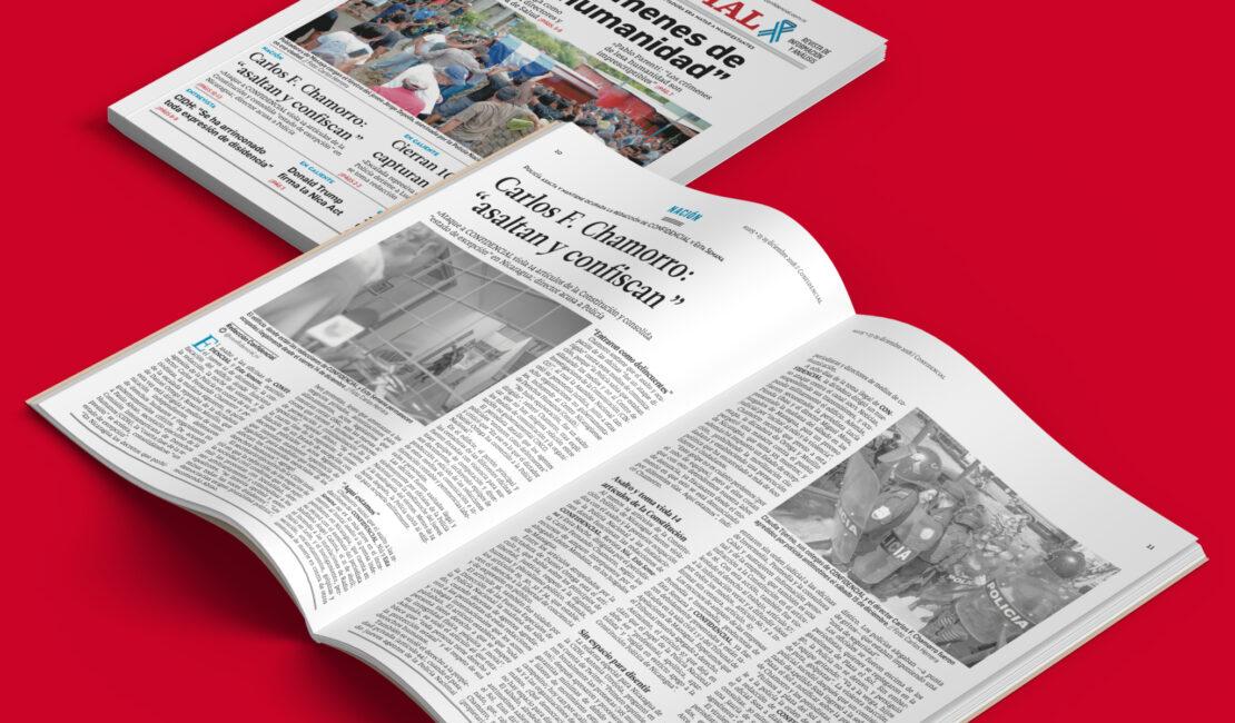 La publicación de una edición emblemática de la revista CONFIDENCIAL