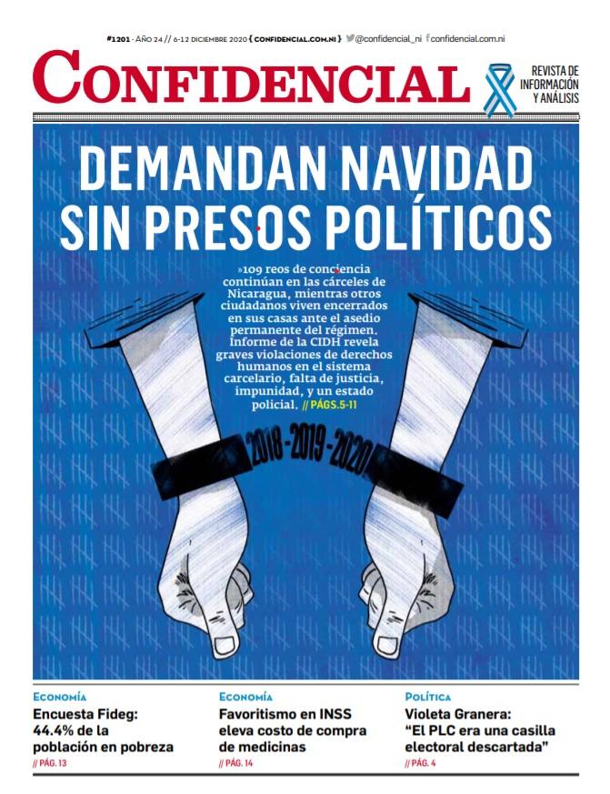 Demandan Navidad sin presos políticos