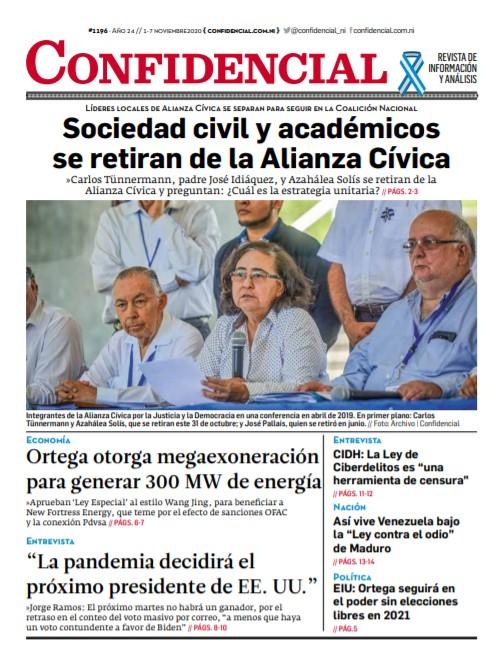 Sociedad civil y académicos se retiran de la Alianza Cívica