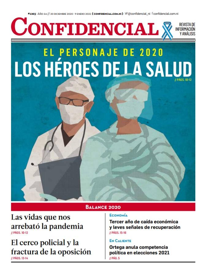 El personaje de 2020: Los héroes de la salud