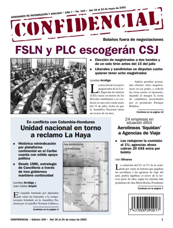 FSLN y PLC escogerán a magistrados de la CSJ