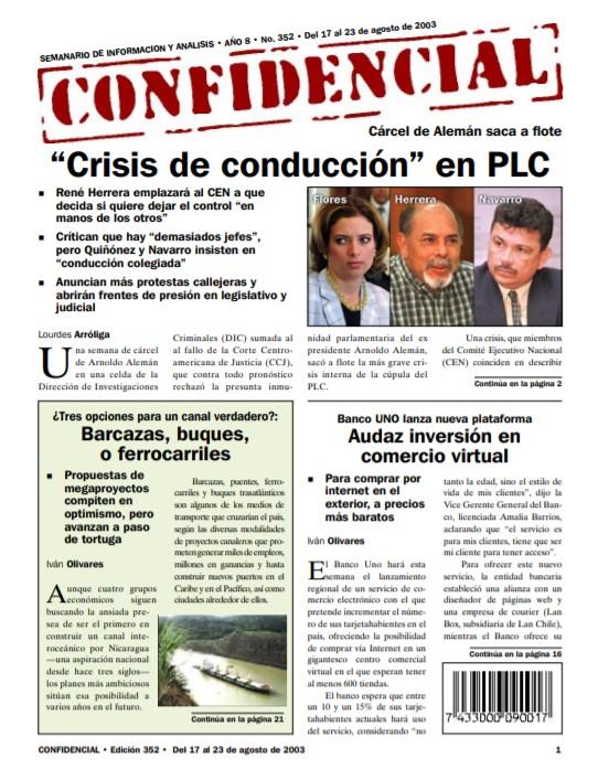 «Crisis de conducción» en Partido Liberal Constitucionalista