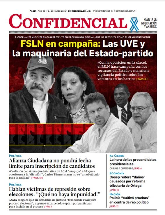 FSLN en campaña: Las UVE y la maquinaria del Estado-partido