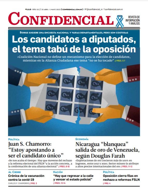 Los candidatos a diputados, el tema tabú de la oposición
