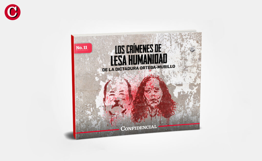 CONFIDENCIAL lanza eBook sobre crímenes de lesa humanidad de la dictadura Ortega-Murillo