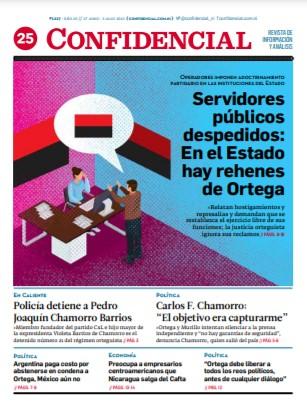 Servidores públicos despedidos: En el Estado hay rehenes de Ortega
