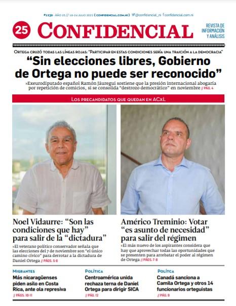 «Sin elecciones libres, Gobierno de Ortega no puede ser reconocido»