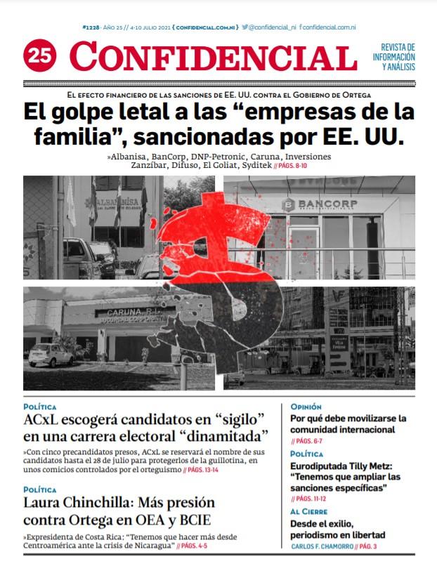 El golpe letal a las «empresas de la familia Ortega-Murillo», sancionadas por EE.UU