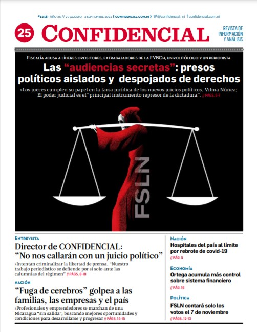 Las «audiencias secretas»: presos políticos aislados y despojados de derechos
